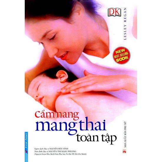 Sách hay cho bà bầu: Cẩm Nang Mang Thai Toàn Tập