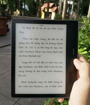 Máy Đọc Sách Kindle Oasis