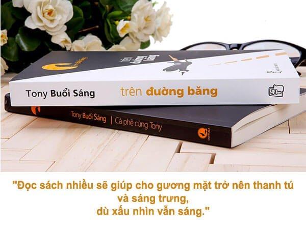 Những câu nói hay về sách và văn hóa đọc sách của Tony