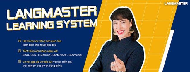học tiến Anh online Langmaster